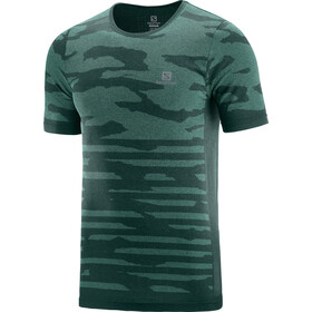 Salomon XA T-shirt Heren, green gables/heather